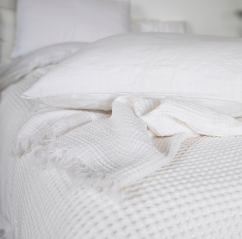 waffle bed cover15
